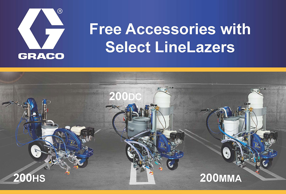 Free Accessories wit Select Graco LineLazers