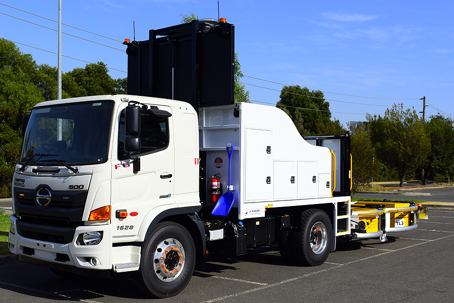 Hino 500 Series FG1628  & TMA Package Incident Response Vehicle