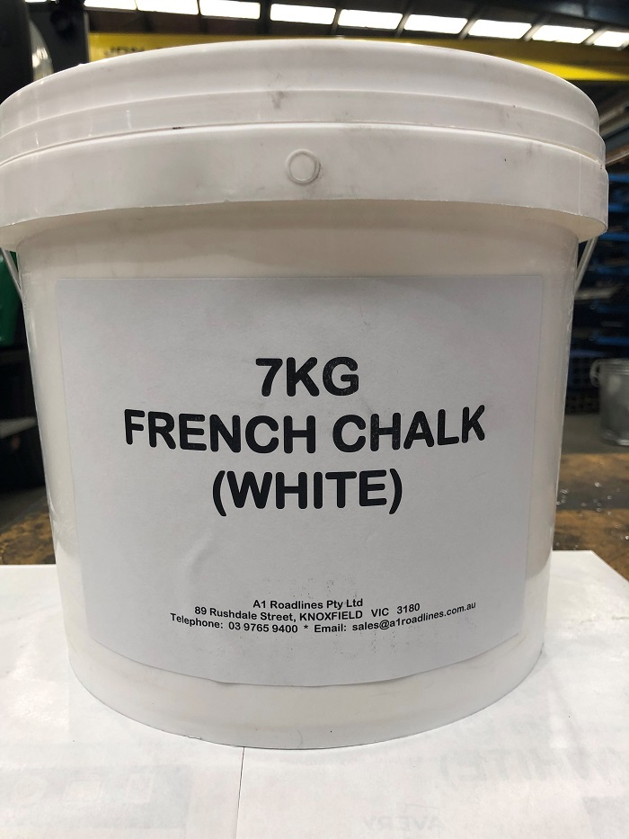 French Chalk Colour - White